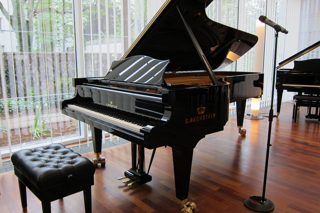 Import of high class famous brands new pianos C.BECHSTEIN and others